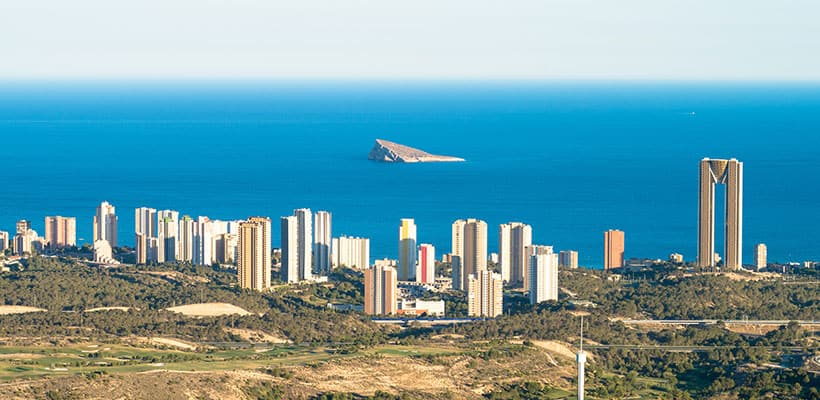 Benidorm Outside View